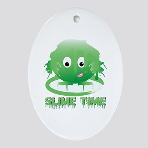 Slime Time Ornament (Oval)