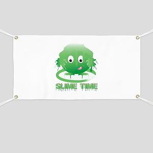 Slime Time Banner