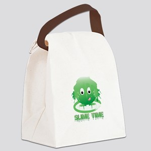 Slime Time Canvas Lunch Bag