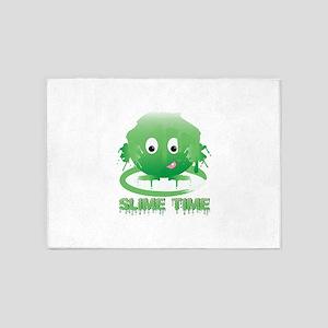 Slime Time 5'x7'Area Rug