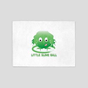Little Slime Ball 5'x7'Area Rug