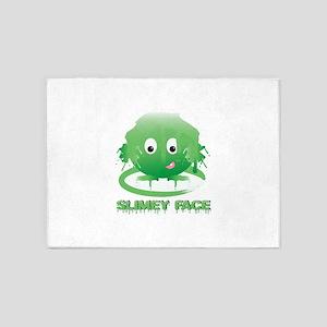 Simley Face 5'x7'Area Rug