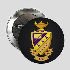 "Phi Sigma Pi Crest 2.25"" Button"