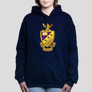 Phi Sigma Pi Crest Women's Hooded Sweatshirt