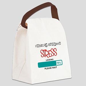 Nursing student Loading lights Canvas Lunch Bag