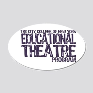 CCNY Educational Theatre Wall Decal