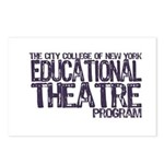 CCNY Educational Theatre Postcards (Package of 8)
