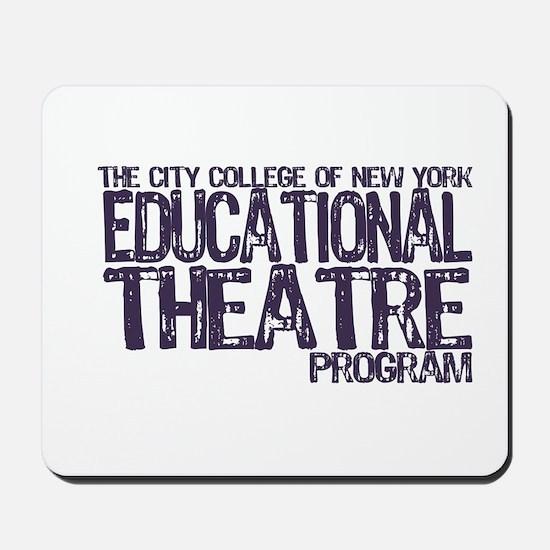 CCNY Educational Theatre Mousepad