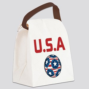 U.S.A Canvas Lunch Bag