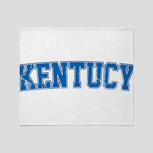 Kentucky Throw Blanket
