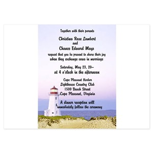 Lighthouse Invitations And Announcements Cafepress