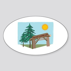Welcome To The Summer Camp! Sticker