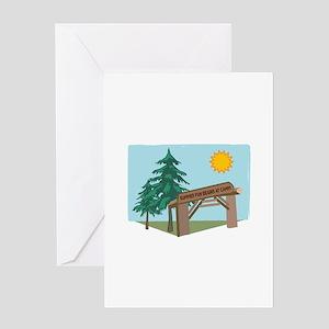 Summer Fun Begins At Camp! Greeting Cards