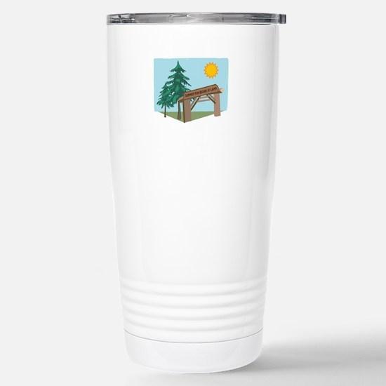 Summer Fun Begins At Camp! Travel Mug