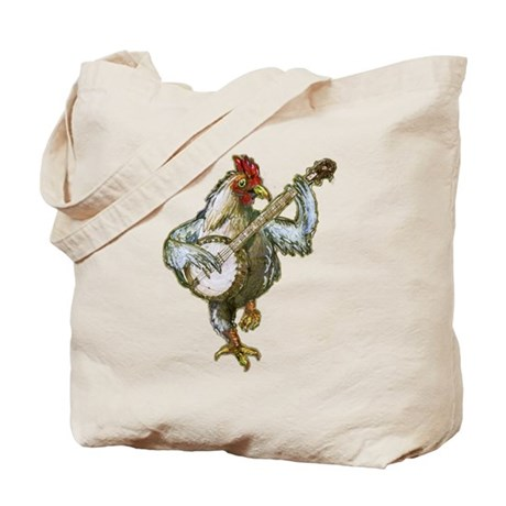 Banjo Chicken & Raccoon Gang Tote Bag