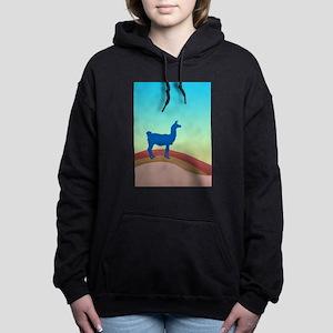 Sunrise Hills Llama tl3 Women's Hooded Sweatshirt