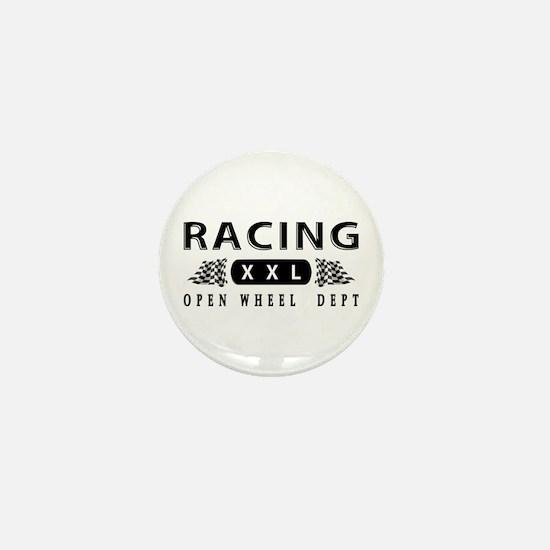 Open Wheel Racing Mini Button