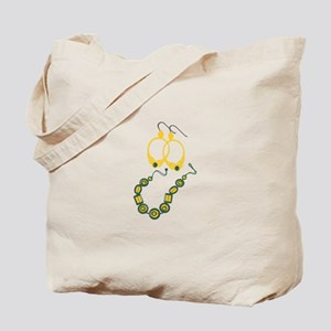 Earrings & Necklace Tote Bag