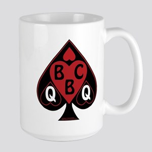 Queen of spades loves BBC-red Mugs