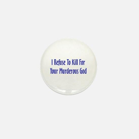Murderous God Mini Button