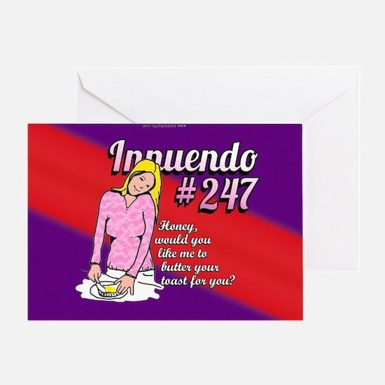 Innuendo... Greeting Card