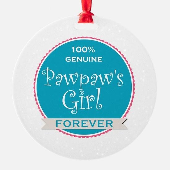 100% Pawpaw's Girl Ornament