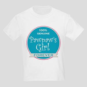 100% Pawpaw's Girl Kids Light T-Shirt