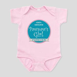 100% Pawpaw's Girl Infant Bodysuit