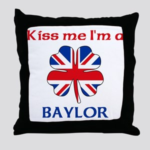 Baylor Family Throw Pillow