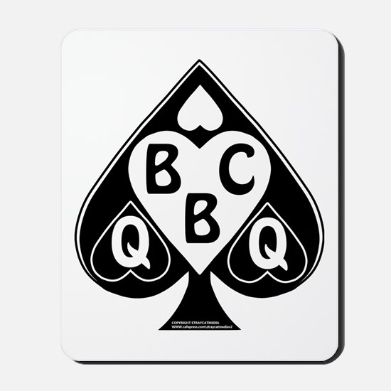Queen of Spades Loves BBC Mousepad