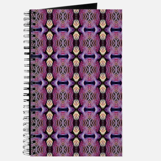 Purple Geometric Pattern Journal