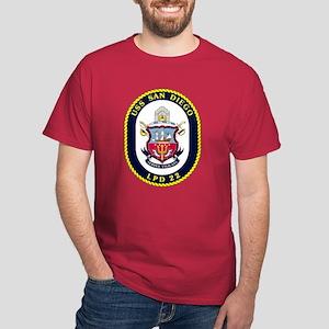 USS San Diego LPD-22 Dark T-Shirt