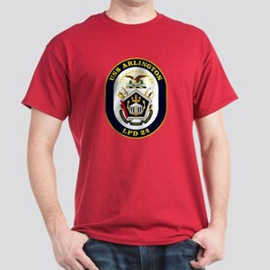 USS Arlington LPD-24 Dark T-Shirt