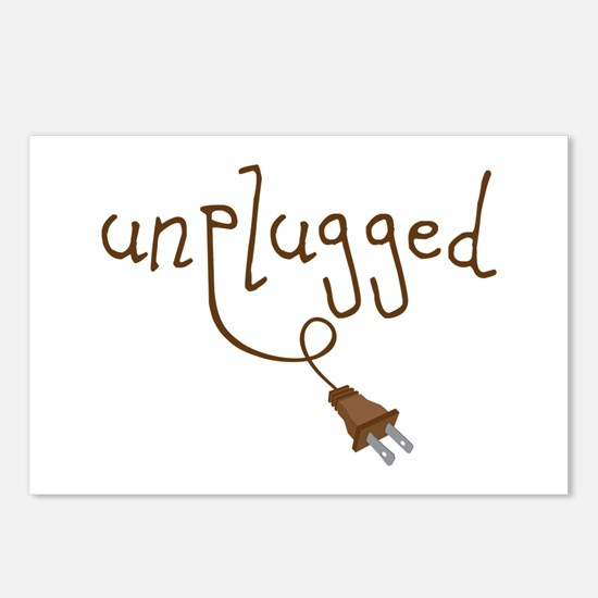 Unplugged Postcards (Package of 8)