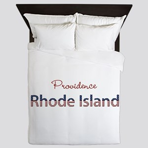 Custom Rhode Island Queen Duvet