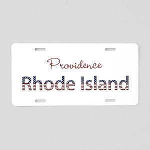 Custom Rhode Island Aluminum License Plate