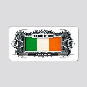Proud To Be Irish Aluminum License Plate