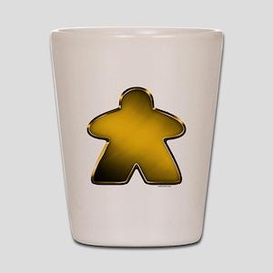 Metallic Meeple - Gold Shot Glass