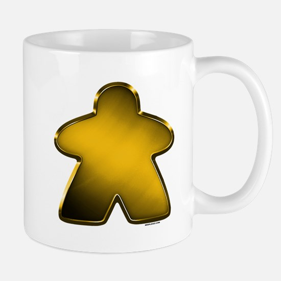 Metallic Meeple - Gold Mugs