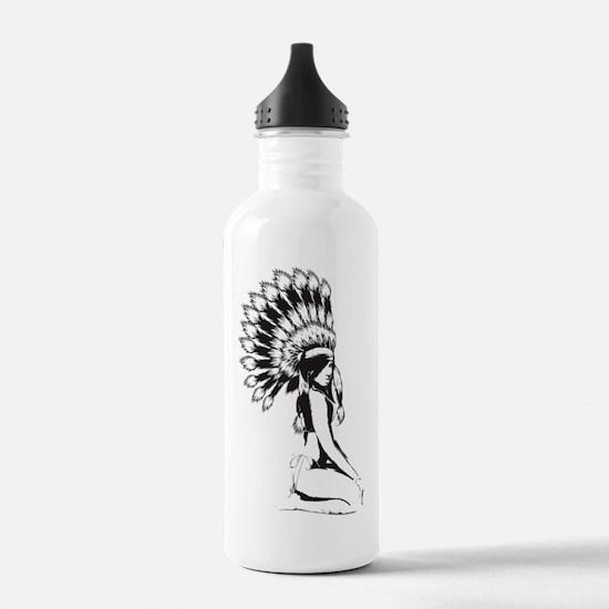 Pow Wow Hottie Water Bottle