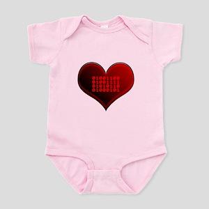 Binary LOVE Infant Bodysuit