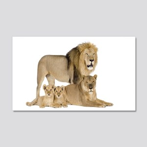 Lions Wall Decal