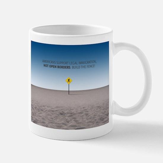 No Open Borders Mugs