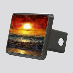 sun down Rectangular Hitch Cover