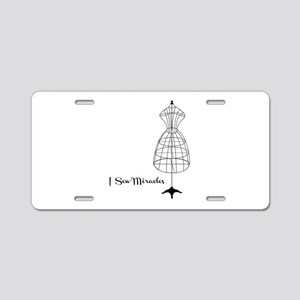 Sew Miracles Aluminum License Plate