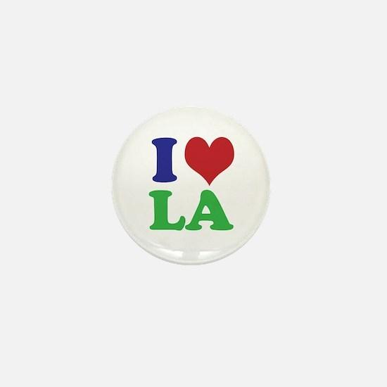 I Heart LA Mini Button