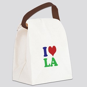 I Heart LA Canvas Lunch Bag