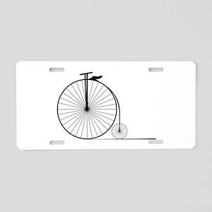 Antique Bike Aluminum License Plate