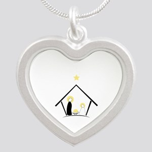 Baby In Manger Necklaces