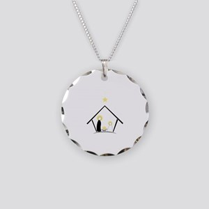 Baby In Manger Necklace